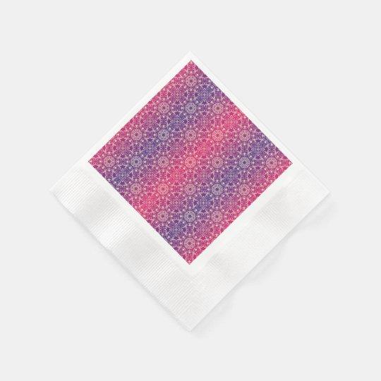 Floral luxury royal antique pattern paper napkin
