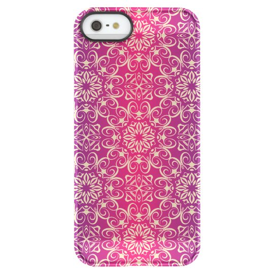 Floral luxury royal antique pattern permafrost® iPhone SE/5/5s case