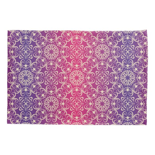 Floral luxury royal antique pattern pillowcase