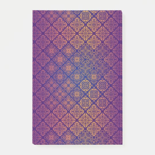 Floral luxury royal antique pattern post-it notes