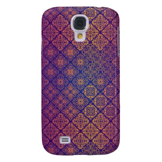 Floral luxury royal antique pattern samsung galaxy s4 cases