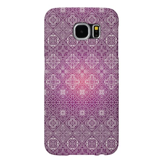 Floral luxury royal antique pattern samsung galaxy s6 cases