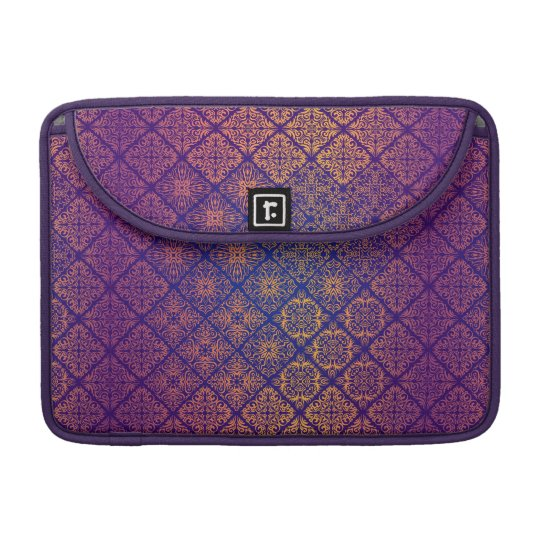 Floral luxury royal antique pattern sleeve for MacBooks
