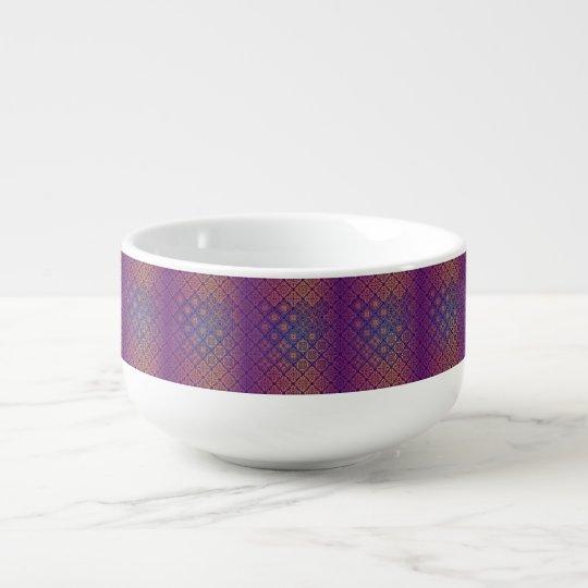 Floral luxury royal antique pattern soup mug