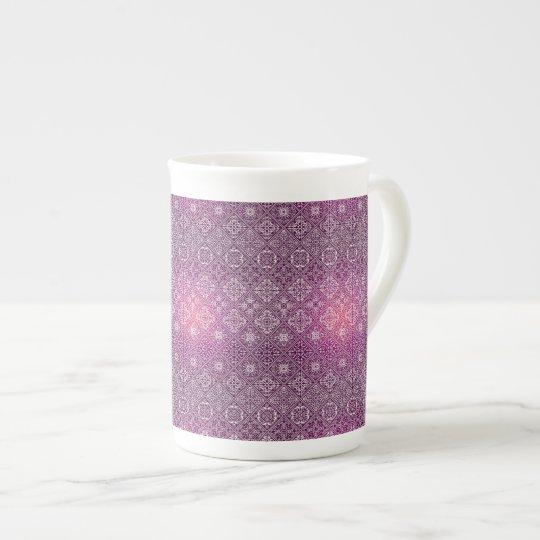 Floral luxury royal antique pattern tea cup