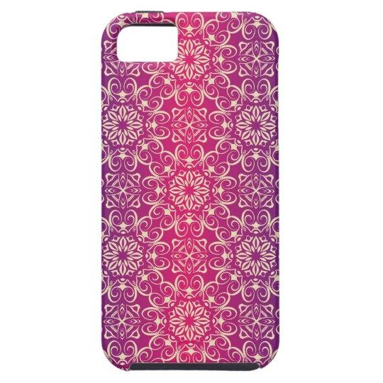 Floral luxury royal antique pattern tough iPhone 5 case