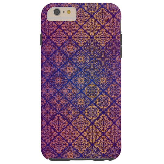 Floral luxury royal antique pattern tough iPhone 6 plus case