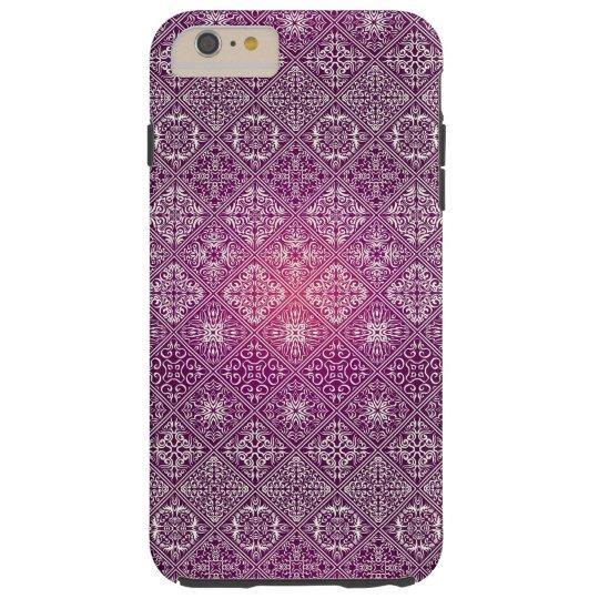 Floral luxury royal antique pattern tough iPhone 6 plus case