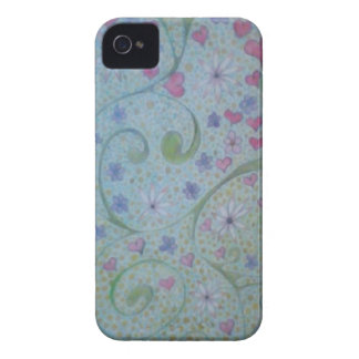 floral magic of love and creation sketch iPhone 4 covers