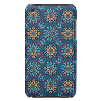 Floral mandala abstract pattern barely there iPod covers