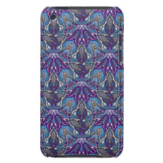 Floral mandala abstract pattern design barely there iPod covers