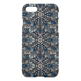 Floral mandala abstract pattern design by Somberla iPhone 8/7 Case