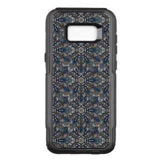 Floral mandala abstract pattern design by Somberla OtterBox Commuter Samsung Galaxy S8+ Case
