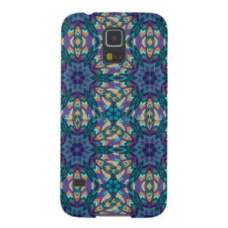 Floral mandala abstract pattern design case for galaxy s5
