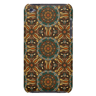 Floral mandala abstract pattern design Case-Mate iPod touch case