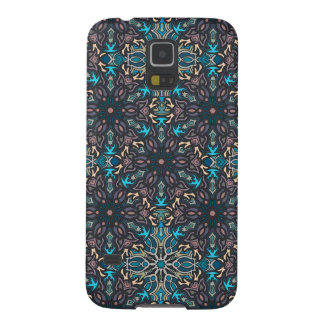 Floral mandala abstract pattern design cases for galaxy s5