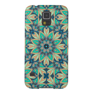 Floral mandala abstract pattern design galaxy s5 cover