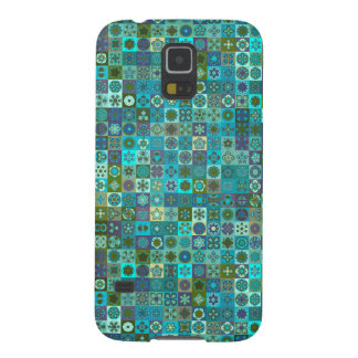 Floral mandala abstract pattern design galaxy s5 covers