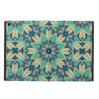 Floral mandala abstract pattern design iPad air cover
