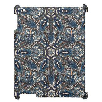 Floral mandala abstract pattern design iPad case