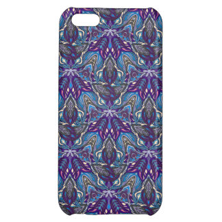 Floral mandala abstract pattern design iPhone 5C cover