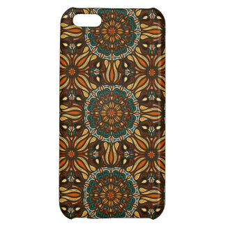 Floral mandala abstract pattern design iPhone 5C covers