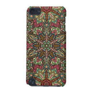 Floral mandala abstract pattern design iPod touch 5G cases
