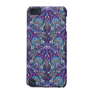 Floral mandala abstract pattern design iPod touch (5th generation) case