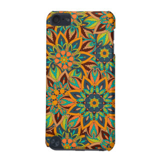 Floral mandala abstract pattern design iPod touch (5th generation) cases
