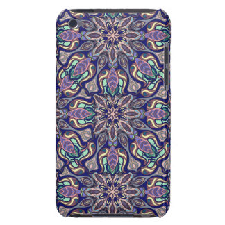 Floral mandala abstract pattern design iPod touch cases