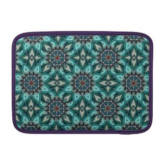 Floral mandala abstract pattern design MacBook air sleeves