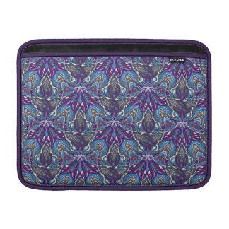 Floral mandala abstract pattern design MacBook sleeves