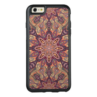 Floral mandala abstract pattern design OtterBox iPhone 6/6s plus case
