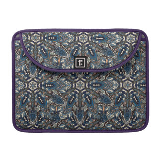 Floral mandala abstract pattern design sleeves for MacBooks