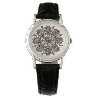 Floral Mandala Watch