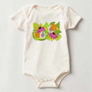 Floral Medicines Baby Bodysuit