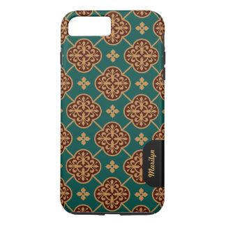 Floral medieval tile pattern CC0905 Augustus Pugin iPhone 8 Plus/7 Plus Case