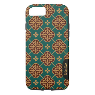 Floral medieval tile pattern CC0908 Augustus Pugin iPhone 8/7 Case