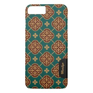 Floral medieval tile pattern CC0911 Augustus Pugin iPhone 8 Plus/7 Plus Case
