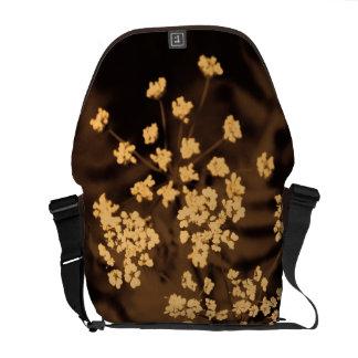 floral messenger bags