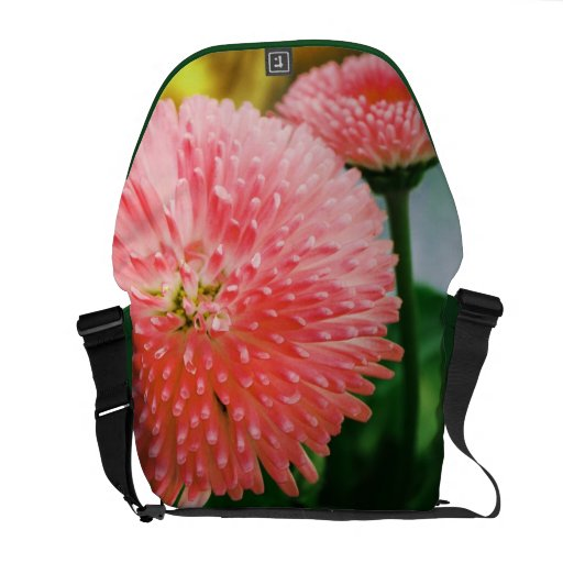 floral courier bags