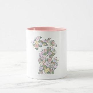 Floral Michigan Mug