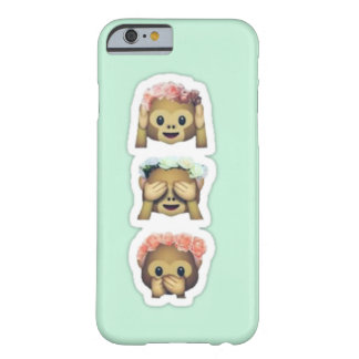 Floral Monkey Emojis Case