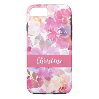 Floral Monogram Artsy Design iPhone 8/7 Case