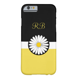 Floral Monogram Ladies Cheerful Design Barely There iPhone 6 Case