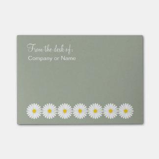 Floral Monogram Stick Notes