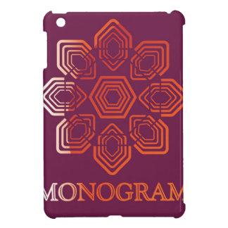 Floral Monogram Vector Logo Design Cover For The iPad Mini