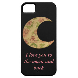 Floral Moon Case For The iPhone 5
