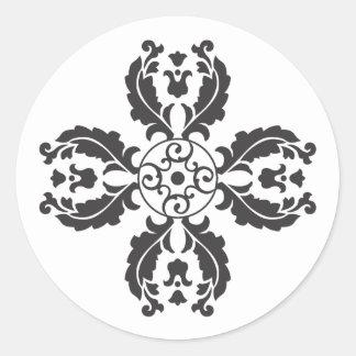 Floral Motif Envelope Seal