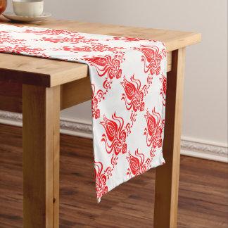Floral motif from romanian. short table runner